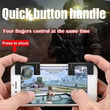 ALLOYSEED One Pair of Phone game Joystick Mobile Phone Physical Joysticks Assist Tools for STG shooting FPS TPS Games