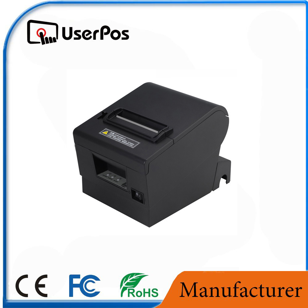 thermal printer and cutter 80 mm cash register thermal printer