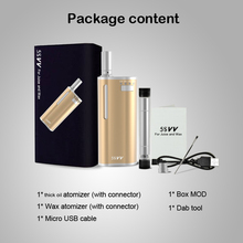 Original Mjtech 5S Vv Vaporizer Starter Kit 650Mah Preheat Variable Voltage Battery 5Svv 2 In 1.jpg 220x220 - Vapes, mods and electronic cigaretes