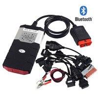 NEW VCI TCS CDP PRO Plus for delphi ds150e Bluetooth 2015.R3 keygen OBD cars trucks OBDII diagnostic tool with 8pcs Car cables
