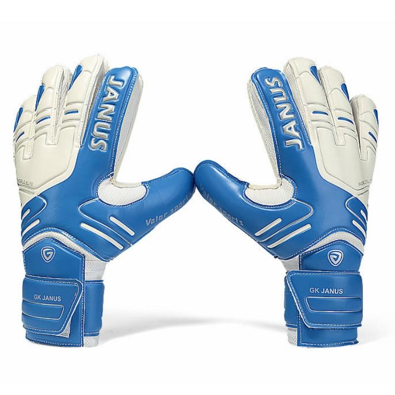 Professional Men Goalkeeper Gloves With Finger Protection Thickened Latex Soccer Goalie Gloves Women Football Goal Keeper Gloves