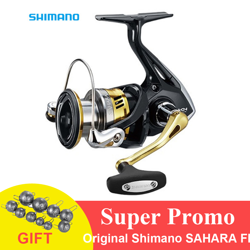 SHIMANO 17 SAHARA C3000DH DOUBLE HANDLE SPINNING REEL NEW CONDITION IN BOX
