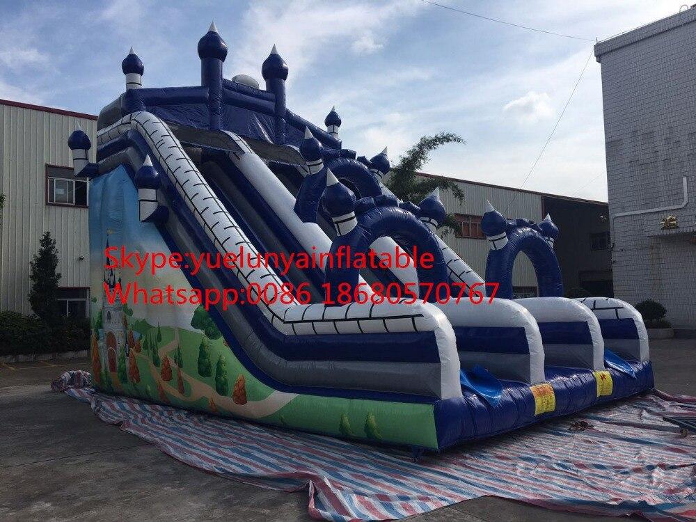 2016 nueva diapositiva inflable directa de la fábrica, diapositivas - Deportes y aire libre - foto 2