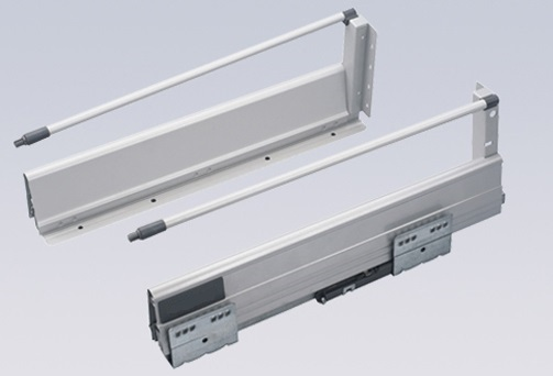 """6Pairs/LOT   H143mm Double Wall 20""""  ( 500mm ) Soft Close Drawer Slide Runners Kitchen Bath Furniture Cabinet"""