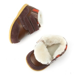 Image 3 - Tipsie palce dzieci buty dla chłopców jesienią i zimą 2018 koreański wersja Martin skórzane moda Snowankle