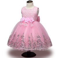Lace Girl Summer Clothes Newborn Baby Dress Kids Party Wear Princess Costume For Girl Tutu Infant