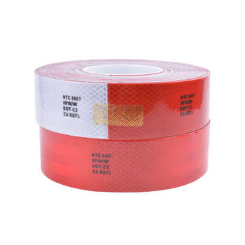 5CM*3M 50 meters NTC5807 High Visibility Reflective Sheeting Car stickers Truck Safety Warning Adhesive strips Conspicuity Tape - DISCOUNT ITEM  38 OFF Automobiles & Motorcycles