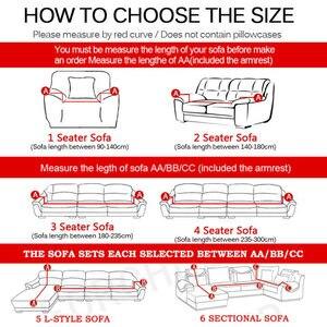 Image 5 - Fundas para sofá a cuadros, cubierta para mueble universal europea de tela polar, para sala de estar, cubre desde las esquinas seccionales