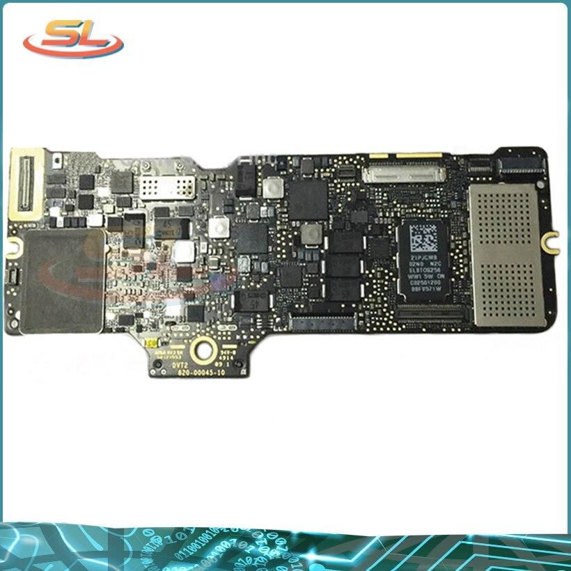 Genuíno Laptop placa Mãe placa Lógica Para MacBook A1534 12 ''i5 8G 1.2Ghz 2015 2016 Ano