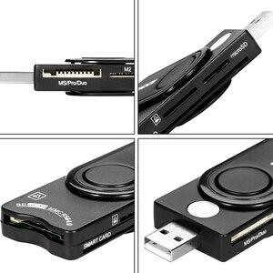 Image 5 - Rocketek USB 2.0 multi lecteur de carte à puce SD. TF MS M2 micro SD mémoire/ID, carte bancaire, adaptateur de connecteur de cloner sim pccomputer