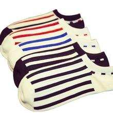 1Funny Cute Girls Print Stripe Loose Striped Crew Socks Colorful Women Sox Harajuku Designer Retro Yellow White