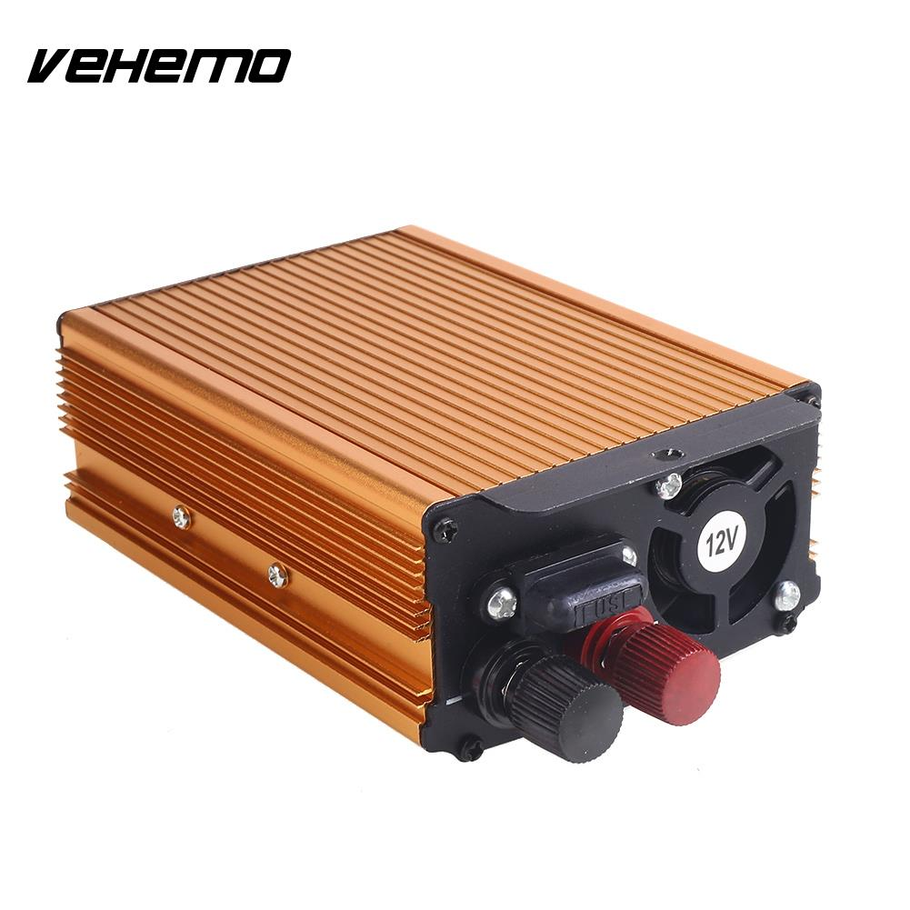 Vehemo DC12V To AC220V 3000W Converter Electronics Power Inverter Car Inverter Premium Stable Automobiles Aluminum Alloy