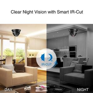 Image 4 - SANNCE 4CH 1080N DVR Security Camera CCTV System 4pcs 720P CCTV Cameras P2P Indoor Outdoor Video Surveillance Kit for Home