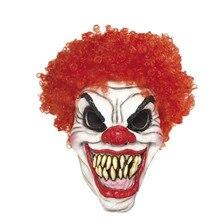 X-MERRY игрушка Джокер маска клоуна Хэллоуин тушь террор латекс клоун Страшный Темный рыцарь Необычные платья Prop Косплэй маска