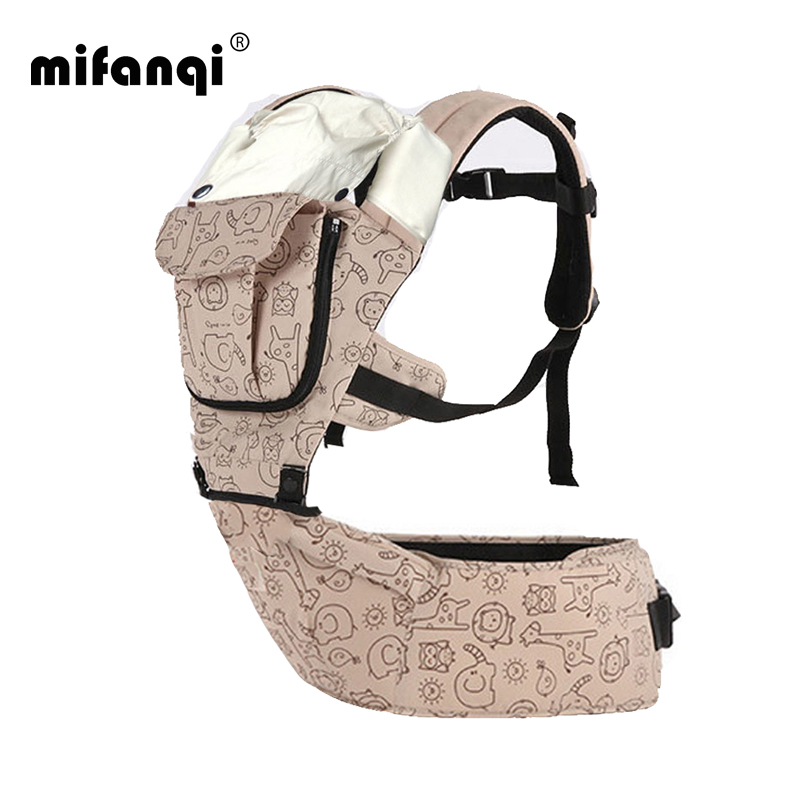 360 Baby Carrier 10-12 Months Baby Hipseat 20kg Infant Backpack Carriers Front Facing Kangaroo Baby Wrap Polyester Manduca Print(China (Mainland))