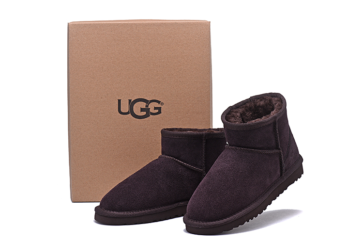 e8848c8344d US $65.82 |Ugged Women Boots Leather Classic UGG Boots 5854 Snow Shoes Fur  Warm Winter Boots Women's Short Sheepskin Australian Boots Uggs-in Mid-Calf  ...