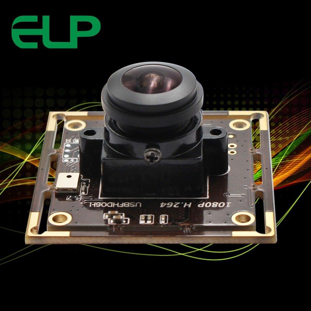 Lentille Fisheye à grand Angle 180 degrés   Haute résolution 1080P Sony IMX322 H.264 Mini Module de caméra vidéo basse luminosité