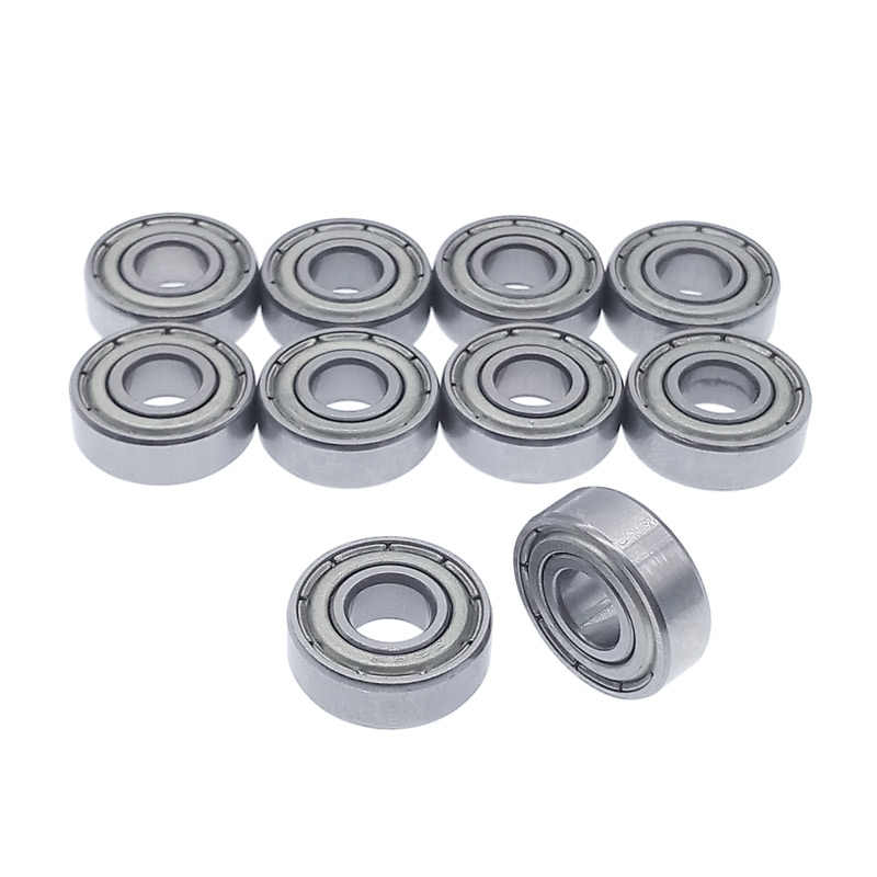 10 stks/partij Lager 696 696Z 696ZZ carbon staal 6*15*5mm miniatuur lagers diepgroefkogellager