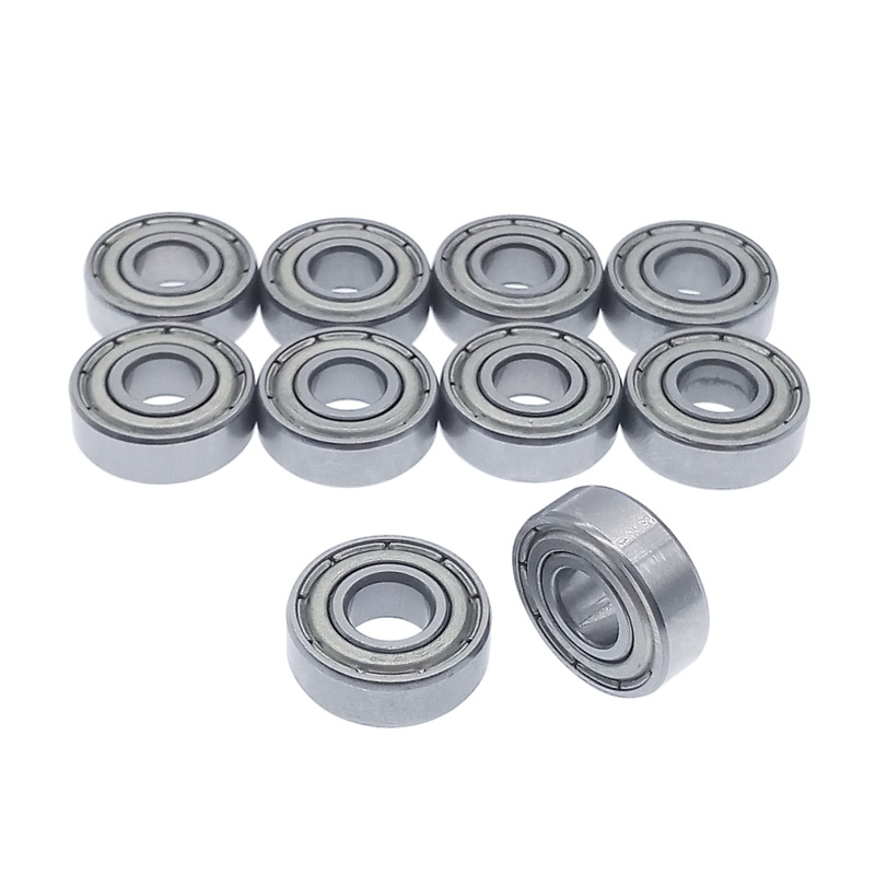 10pcs/lot Bearing 696 696Z 696ZZ Carbon Steel 6*15*5mm Miniature Bearings Deep Groove Ball Bearing