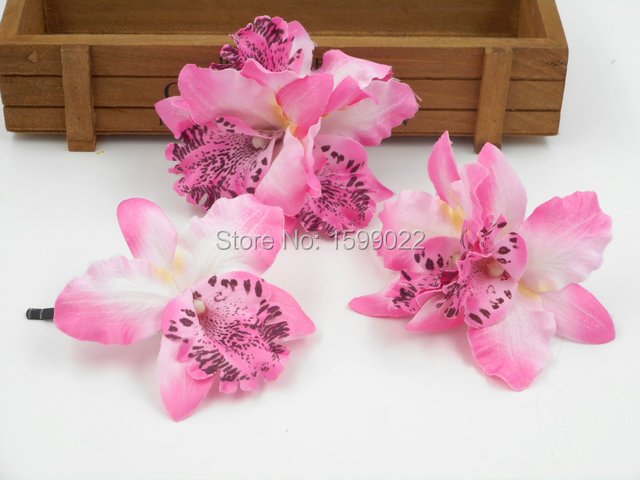 3pcslot hawaii orchid flower hair clips brooch pins pink beach 3pcslot hawaii orchid flower hair clips brooch pins pink beach wedding bridal head accessories mightylinksfo