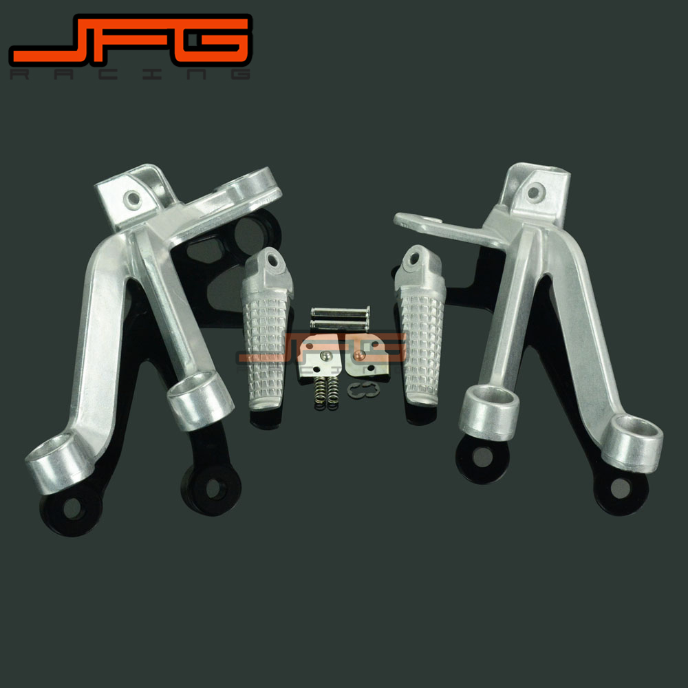 Footrests Rear Foot Pegs Pedals Rest Footpegs For SUZUKI GSXR1000 GSXR 1000 2003-2004 2003 2004 Motorcycle