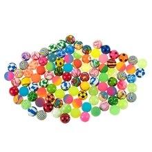 100 шт Детские Волшебные надувные прыжки плавающие прыгающие шарики резиновые для детей Летние Водные Игрушки для бассейна