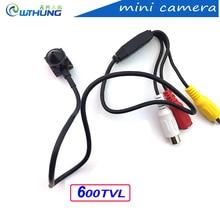 WTHUNG Mini Camera Super Small Color Video 600TVL 1080P 3.7mm lens With Audio HD Tiny Mini home Security CCTV Pin Hole Camera