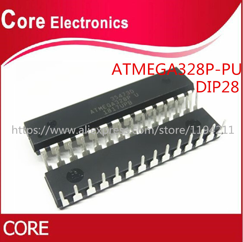 100pcs lot DIP 28 ATMEGA328P ATMEGA328P PU 328P Best quality