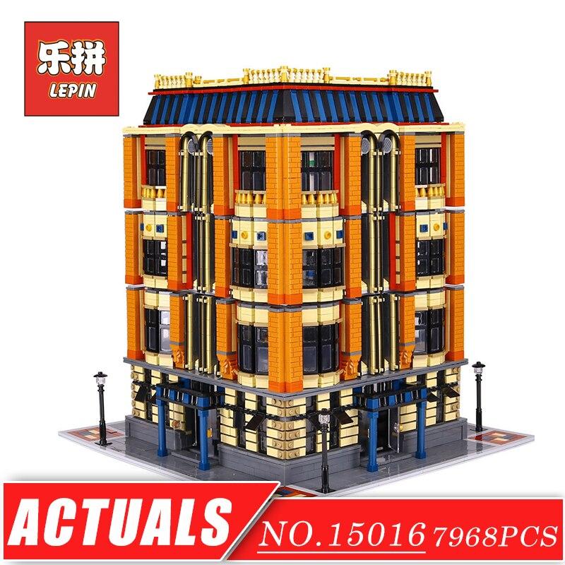 LEPIN 15016 City Genuine Creative Series the Apple University Big House Model Building Blocks Bricks Set DIY Toys for Children велосипед stels navigator 480 md 2016