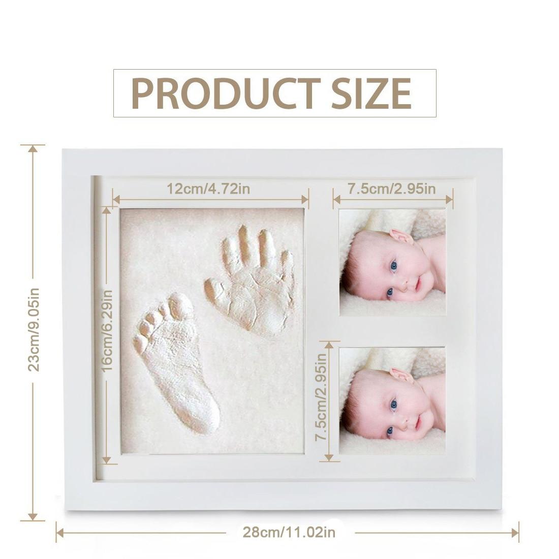 Милые Детские Фоторамки DIY 3D отпечаток руки или след сувенир безопасный подушечка Нетоксично церемонии подарок для ребенка