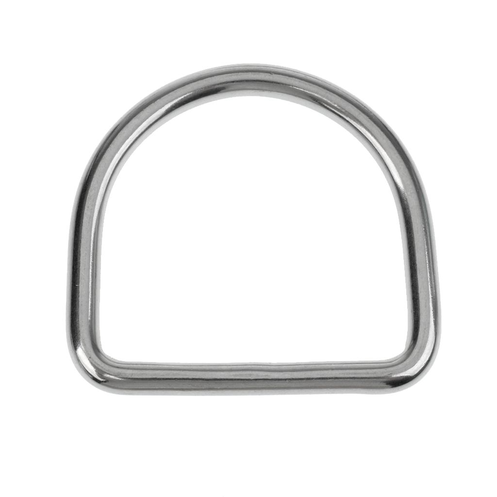 316 Stainless Steel Scuba Diving D Ring Buckle Hook Weight Belt 5cm Webbing Harness Side Mount Water Sports Accessories