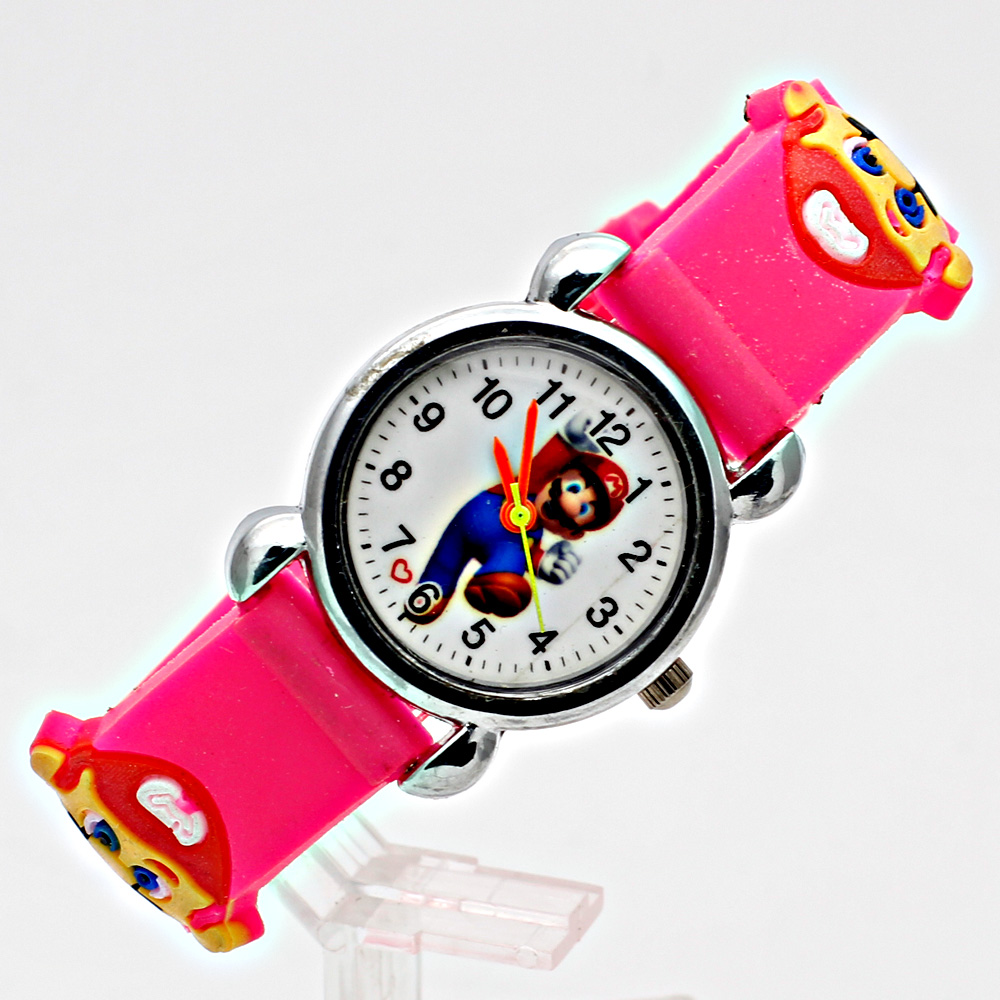 3D-silikon Cartoon Watch WristWatch Barn Sport Watch Fashion Boys - Barnklockor - Foto 3