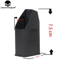 EMERSONGEAR Glock Magazine Speed Loader Mag Speed Loader for 9mm/.40/.357/ .45 GAP Mags Clips Clip Black BD4239|magazine glock|speed clips|9mm glock -