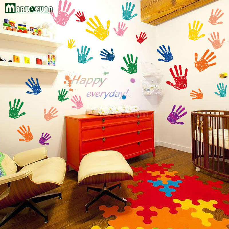 Buy creative cute children colorful for Classroom wall mural ideas