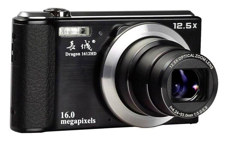 high cost performance high quality digital camera 1612hd 1080p telescopic lens camera