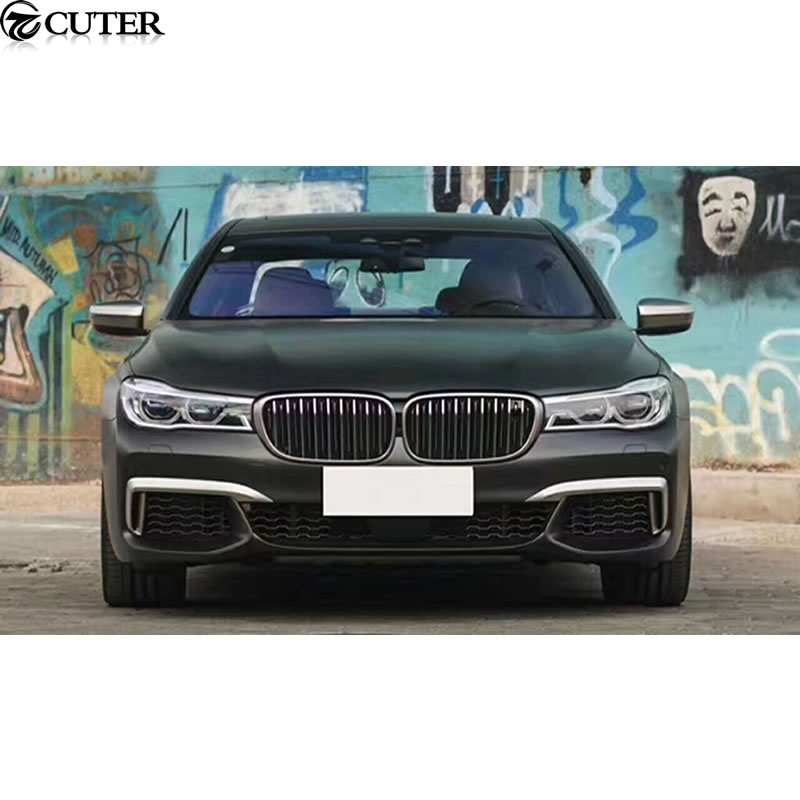 G11 G12 M760li PP Car body kit front bumper Rear bumper side skirts For BMW G11 G12 M760Li 12 15 in Body Kits from Automobiles Motorcycles