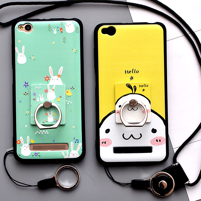 best authentic 3f936 90242 for Xiaomi Redmi 4A Case 3D Cartoon Soft Silicone Phone Case for ...