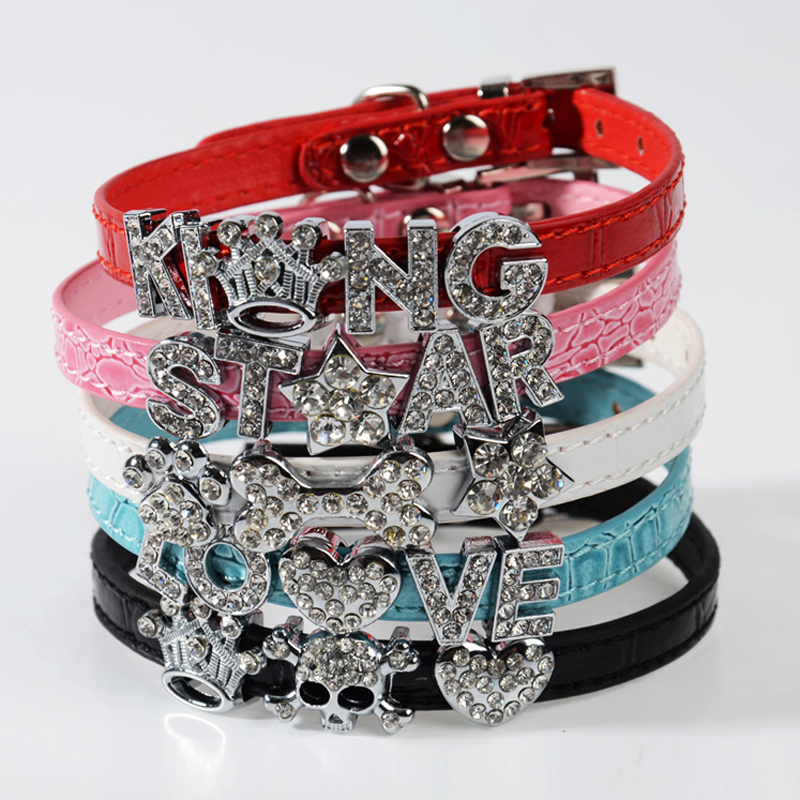 High Quality Bling Croc Pu Leather 10mm Personalized