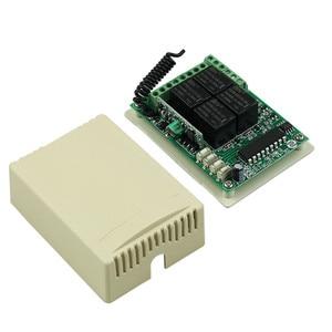 Image 5 - DC 12 V 4CH 1CH ממסר עצמאי אלחוטי + מתג אור מרחוק 2CH הרגעי 2CH Toggle Switch 315 MHZ/433 MHZ