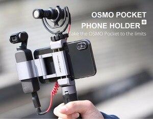 Image 5 - オリジナル dji osmo ポケットマイクアダプタ 3.5 ミリメートルサポート外部 3.5 ミリメートルマイク trs プラグ用 dji osmo ポケットアクセサリー