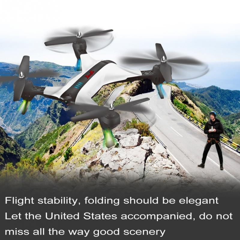XY-017-2 Foldable 2.0 MP RC Quadcopter Drone Headless Mode Four Axis Aircraft Wifi Camera jjr c jjrc h43wh h43 selfie elfie wifi fpv with hd camera altitude hold headless mode foldable arm rc quadcopter drone h37 mini
