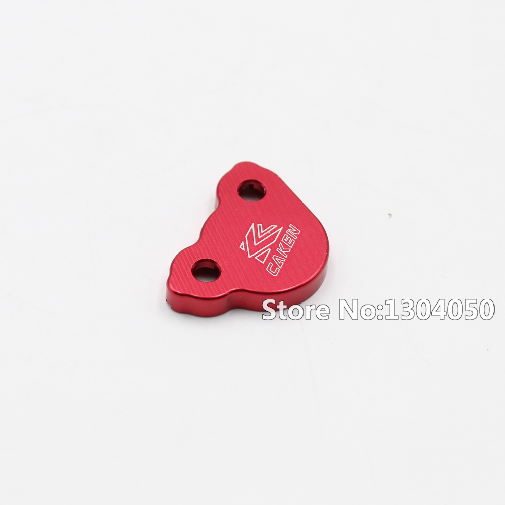 CNC Front & Rear Brake Reservoir Fluid Cover For Honda CR125 CR250 CR150R CRF250R CRF250X CRF450R CRF450X Motorcycle MX RED