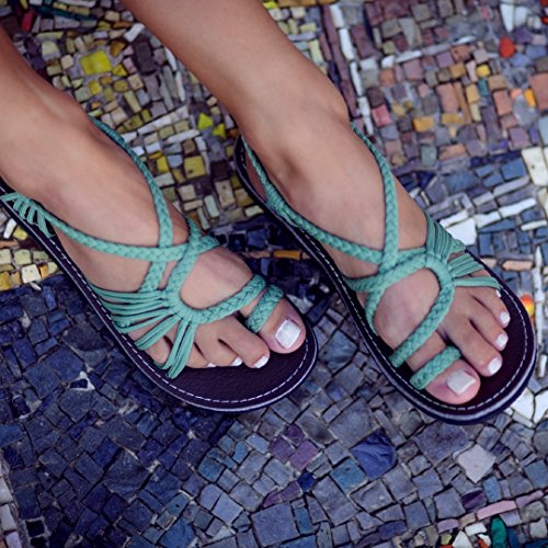 14d386487 2018 Summer Handmade Breathable Bandage Beach Flat Sandals – Feature ...
