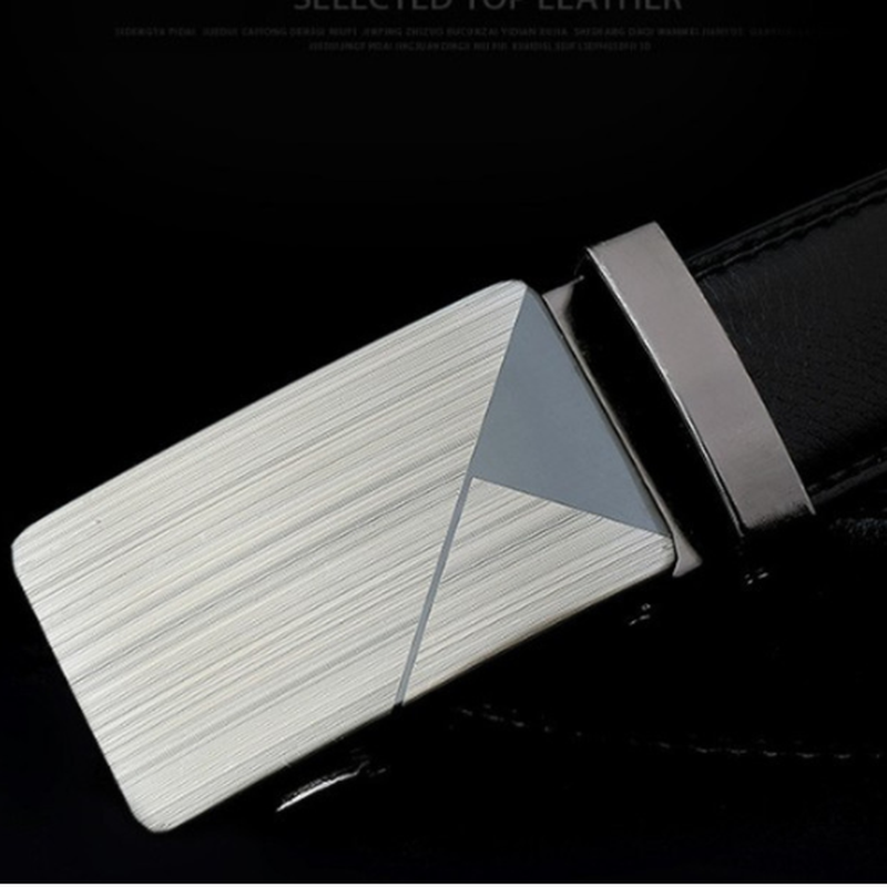 120cm Men Leather   Belt   Male Leather   Belts   Automatic Buckle Fashion Designer High Quality Mens   Belts   Luxury Casual Business   Belt