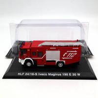 Altlas 1:72 HLF 24/16S Iveco Magirus 190 E 30 W Fire truck Diecast Models Collection Toys