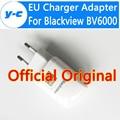 Blackview bv6000 micro usb cable de alta calidad 100% nuevo 2a de la ue cargador adaptador para blackview bv6000s bv5000 smartphone en stock