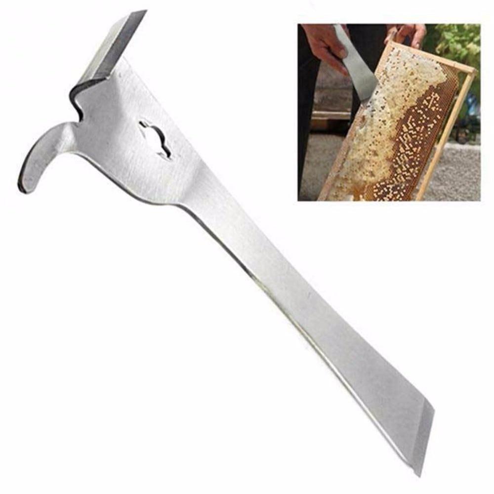 Beekeeper Stainless Steel Bee Hive Claw Scraper Beekeeping Tool Pry Equipment