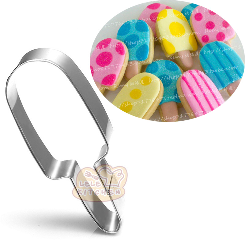 1pcs Popsicles Moldes Metal Cookie Cutters patisserie reposteria Cupcake Candy Fondant Cake Decor Tools Kitchen Dining Bakeware