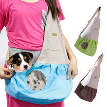 Carrying-Bags Dog-Carriers Chihuahua Slings Puppy Foldable Cat Dogs Small Breathable