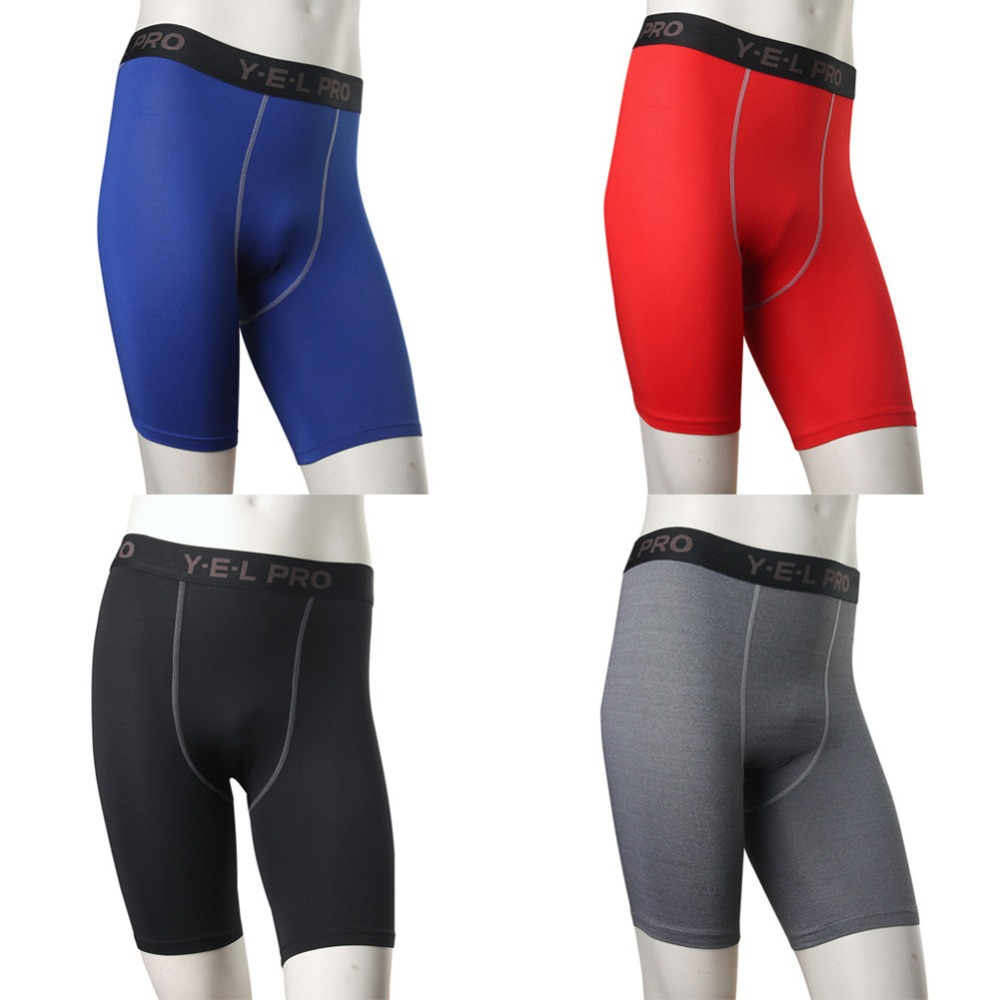 Mens Tights Compression Shorts Base Layer Skins S-XXL Short Pants ...